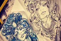 Tattoo Drawings <3