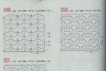 háčkovanie vzory - crochet patterns - Häkelmuster