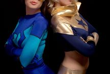 Blue beetle and buster gold
