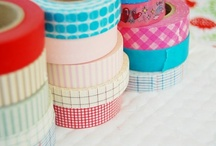 Wonderful Washi Tape Projects  / Washi tape projects as tutorials #washi #tape #duct #japanese-crafts