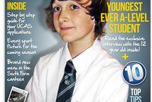 school magazines covers