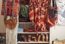 My bohemian Closet