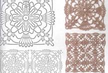 Horgolás 2. szögletes - Crochet 2. squares