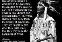 First Nation Quotes / Quotes by famous First Nations and American Indians