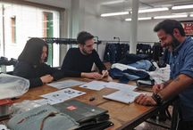 ISKO I-SKOOL™ 3 -  Denim Design Award - Projects Handover to Creative Room™ / The finalists of ISKO-ISKOOL™ Denim Design Award presenting their works to Creative Room™, the ISKO™'s style and research division. Sketches are ready to become real garments in few months! #isko #iskool #denim #fashion #contest #denimlovers #NabaMilano #IuavVenezia #Esmod #AmdAkademie #AaltoUniversity #Polimoda #UalChelsea