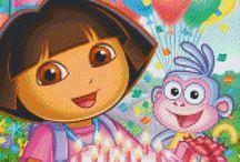 Dora PixelArt Picture