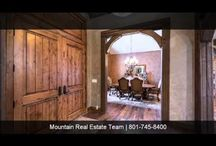 Huntsville Luxury Homes / Mountain Luxury Homes For Sale - Huntsville, Utah. Inquiries, please call 801.745.8400.