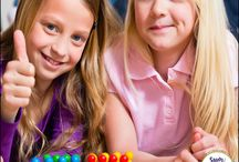 Math Games / If you want to make learning fun for you first, second and third grad students you need a variety of math games. Consolidate place value, fractions, addition and subtraction and multiplication with hands on interactive games. Perfect for math centers and small groups.