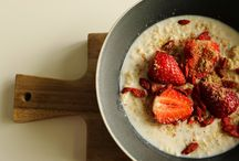 Healthy Brekkie Ideas / A collection of some of my healthy brekkie ideas and alternatives :)