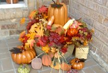 Fall / Washtub on front porch.  / by Toni Smelley