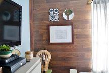 Family Room/Home Theater / Ideias, dicas, truques, organização, decoração e soluções práticas para home theater ou family room.