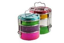 Tiffinware / Stunning Homeware Gifts using Stainless Steel and Bright Enamel.