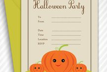 HALLOWEEN INVITATION TEMPLATE / Join us with a Halloween party. Make use of this Cute Pumpkin Halloween Invitation Template to invite your relative and friend's circle for a Halloween party.