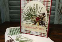 SU stamp Ornamental Pine