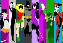 El hombre murcielago y demases. / The batman, friends and enemies!