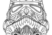Coloring Pages for Adults / Coloring can be great therapy, or just a fun way to relax.  Free coloring printables with beautiful detail.  Grab those crayons, markers, or colored pencils!