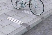 Город // велосипед