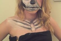 Halloween / Halloween costume, make up