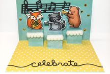 Card music makers stamp