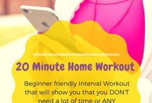 Health and Fitness at Girl and Boy Meet Blog / Fitness, Short Workouts, 20 Minutes, Workouts, Workout, HIIT, High Intensity Interval Training, Health, Healthy, Healthy Living,