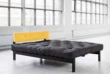 Futon sängramar / futon bed frames / Våra futonsängramar Our futon bed frames