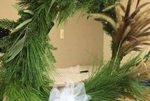 Saratoga Wreath Making Workshop 21-6-17 / Many beautiful wreathes were made at our event. Check them out!