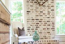 Brick Fireplace Updates