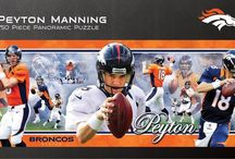 NFL Peyton Manning Jigsaw Puzzles / Perfect gift for any sport enthusiast.