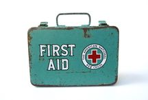 Vintage First Aid Design / First Aid Blast from the Past!