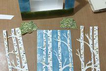 Birch tree folder ideas