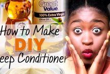 DIY : Fait maison pour cheveux naturels