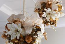 Palle Decorative Ricoperte Di Fiori