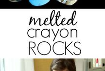 Recycled item crafts that I love!