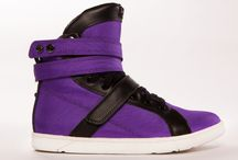 Purple Heyday Footwear Super Shift Gym Sneakers / The freshest and flattest gym sneakers in the world from www.HeydayFootwear.com