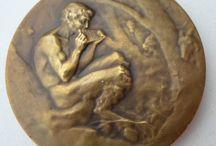 Grécke mince a medaily