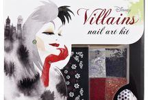 Disney Villains Nail Art Kits by Kiss / It's fun to be bad! *Limited Edition Collection*