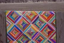 Coperta quadrettoni diagonali a paper pirceng