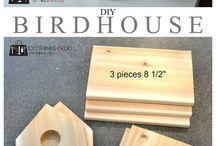 Sarang burung birdhouse