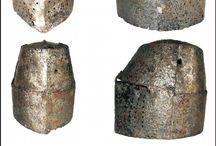 Helmet XIII age, XIII wiek Hełmy