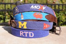 Custom Made Belts  / Great gift idea for anyone! / by Good Threads