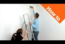 How to hang paste the wall papers