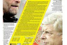 Layout Newspaper Cover Sportif FAJAR