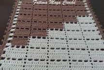 crochet passadeira