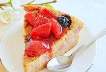 Tartas y Pasteles saludables / Porque por aquí empezó mi adicción a las cosas dulces :)