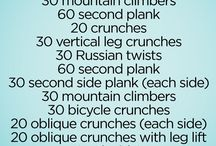 Buikspier routine met amra / Ab workout for at the gym, no machines