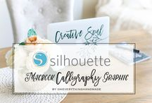 ✐ OEH Silhouette Board ✐ / Tutorial, Inspiration, How to's and more...