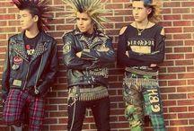 men's 80's punk fashion