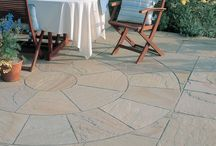 Feature Paving & Focalpoint Ideas / A gallery of interesting feature paving and individual stunning centre pieces to adorn your garden paving project. Features include paving circles with intricate design details in addition to textured wood style paving and interesting mosaic designs