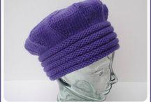 chapeaux au tricot