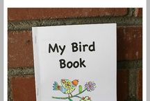 Bird Themed Fun and Learning / Bird themed fun and learning for the toddler to elementary age group. Great ideas for a preschool unit theme. / by Ann Harquail (My Nearest & Dearest)